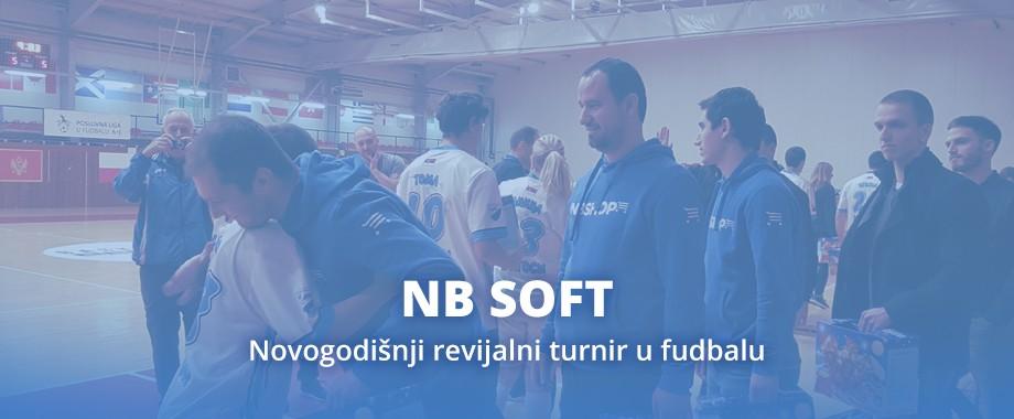 NB SOFT Novogodišnji revijalni turnir Poslovne fudbalske lige